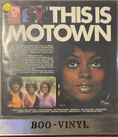 "SEALED- THIS IS MOTOWN - 12"" Vinyl Lp Record  - SHZE 355 -Tamla Motown Mint"