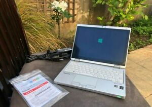 """Panasonic toughbook let's note cf-rz4 10.1"""" 128gb ssd convertible yoga"""