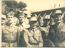 Général Raymond Mamier, pendant la seconde guerre mondiale  Vintage silver print