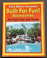 ORIGINAL 1982 FORD FACTORY CAR & TRUCK ACCESSORIES BROCHURE ~ 16 PAGES ~ FA82