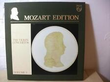 6747 376 MOZART Violin Concertos etc SZERYNG GIBSON PHILIPS STEREO 4LP BOX EX