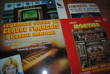 "LOT 11 X LP VINYL *ORGUE / ORGEL* (DECAP - MORTIER - EDDY DRIVER) 33"" LP"