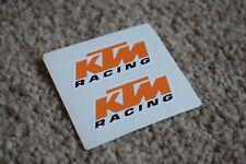 KTM Racing Sport Racing Motorbike Motorcycle Bike Helmet Decal Sticker 50mm