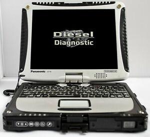 Panasonic Toughbook CF-19 MK5 Diesel Diagnostic Logo Laptop i5-2520M 8GB 500GB
