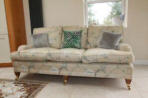 Bespoke howard style sofa great condition traditional modern duresta cushion