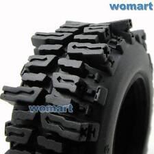 "4pcs 1/10 RC 1.9"" Mud Slingers Crawler Tires 93mm Fit RC 4WD 1.9in Beadlock Rims"