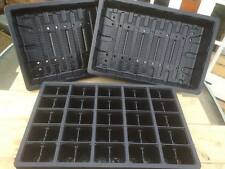 10 x FULL SIZE SEED TRAYS + 10 x 50 CELL SEED TRAY INSERTS