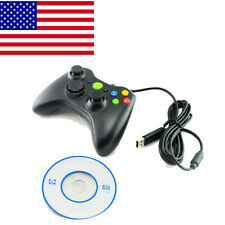 US Wired Gamepad Controller Joystick Joypad games For PC Microsoft Xbox 360 Gift