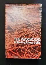 The War Book - ed James Sallis - hbdj 1969