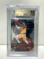 2019-20 Panini Select LeBron James #47 BGS 9.5 Gem Mint LAKERS FINALS MVP INVEST