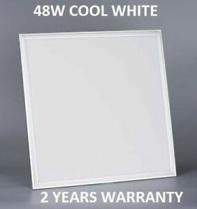 48W LED PANEL LIGHT 600X600MM COOL WHITE 6500K NEW LIGHTS LEDs WITH DRIVER
