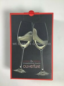 Riedel Wine Glass Company Ouverture Champagne Glass 2 Pack NEW! NIB