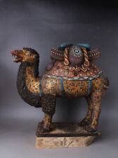 Chinese Antiques color Painted pottery camel