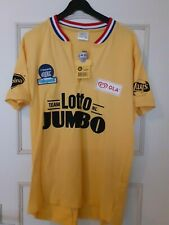 nice yellow Cycling Jersey, Lotto Jumbo Team NL - Joop Zoetemelk, size: xxl/xxxl
