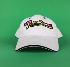 PUERTO RICO Light Tan Baseball Cap Hat Adj. Men's Size Cotton