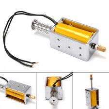 12V Long-Stroke Solenoid Electromagnetic Electric Magnet Push-Pull Actuator 34mm