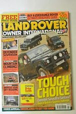 Land Rover Owner International Magazine. July Issue 8,  2005. Mountain Climbing.