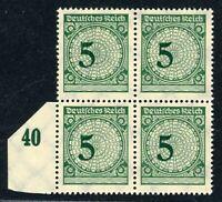 Deutsches Reich 4er Block MiNr. 339 b postfrisch MNH geprüft Schlegel (O477