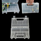 Plastic Case/Organizer/Holder/Container Battery Storage Box for AAA 9V Battery