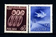 POLAND - POLONIA - 1955 - 8a edizione Gara Ciclistica Internazionale per la Pace