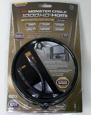 Monster Cable 1000HD Ultimate-High Speed Right Angle HDMI 1 M 3 FT 3D Ready