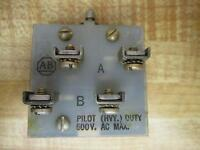 Allen Bradley 800T-T4SB22 Toggle Switch 800TT4SB22