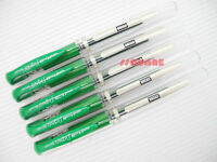 5 x Uni-Ball Signo UM-153 1.0mm Broad Rollerball Gel Ink pens, Green