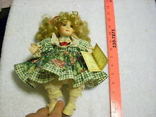 Authentic Soft Expressions Bisque Porcelain Collectible Doll certificate