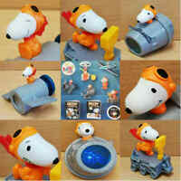 McDonalds Happy Meal Toy Peanuts Space Snoopy Complete Full Set Toys + Books