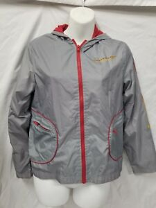Kid's Large Roxy by Quicksilver Jacket Gray and Red