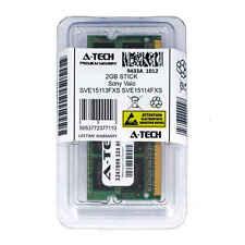 2GB SODIMM Sony SVE15113FXS SVE15114FXS SVE15115EGB SVE15115ENB Ram Memory