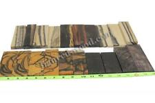 MIX EBONY #0242 - (Assorted in sizes, Wood Carving, Crafts Wood)