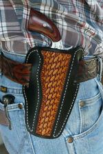 "Leather Holster NAA Earl 4"" Barrel North American Arms Ruff's Black & Tan"