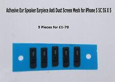 Adhesive Ear Speaker Earpiece Anti Dust Screen Mesh for iPhone 5 5C 5S  X 5