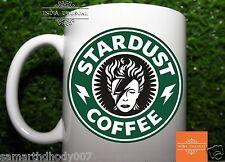Stardust Coffee David Bowie - Starbucks Drink Tea Green Logo - Funny Mug (1x)