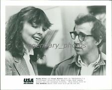 "Woody Allen and Diane Keaton in ""Manhattan"" Original News Service Photo"