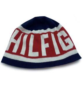 Unbranded Hilfiger printed  Cap/Hat Gear Blue/Red