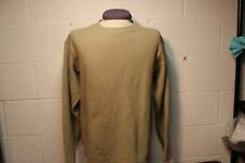 Patagonia Mens Wool Blend Tan Sweater Medium