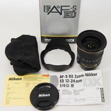 Nikon AF-S DXNikkor 12-24mm f/4G IF-ED/neuwertig // komplett // vom Fachhändler