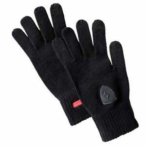 Puma Ferrari Knit Gloves Mens Walking Gloves    - Black