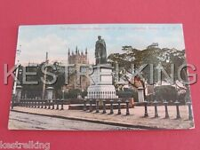 The Prince Consorts Statue & St Marys Cathedral Sydney NSW Postcard