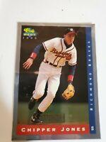 1993 Classic Best Minor League Young Guns #YG7 Chipper Jones Richmond Braves