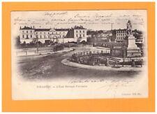 TOULOUSE (31) ECOLE VETERINAIRE , MONUMENT & PONT animé en 1903