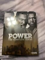 Power : The Complete TV Series Seasons 1-6 DVD 1 2 3 4 5 6 New & Sealed Region 1