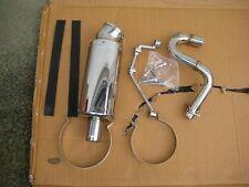 Performance STAINLESS MUFFLER 4 Honda helix CN250 FUSION Spazio