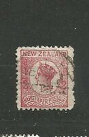 New Zealand Queen Victoria  Two Pence Briefmarken Old Stamps Timbres Sellos