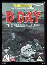 D DAY - THE ALLIES RETURN - B & W NEWSREEL FOOTAGE - NEW & SEALED R2 PAL DVD