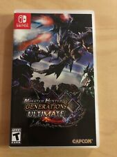Monster Hunter Generations Ultimate Nintendo Switch OPENED UNPLAYED EXCELLENT!!!