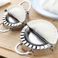 Stainless Steel Dumpling Maker Wrapper Dough Cutter Mould Kitchen Tools 2 Size