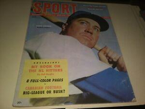 1954 Sept. Sport Magazine - Duke Snider Dodgers Cover Bear Bryant Texas Aggies